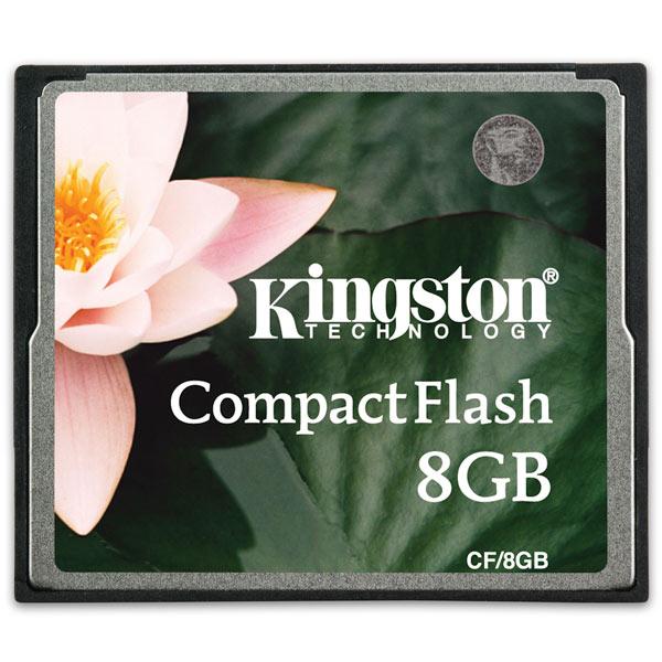 Карта памяти CompactFlash Kingston