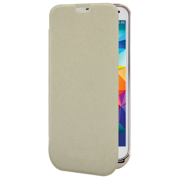 Чехол-аккумулятор InterStep для Galaxy S5 Gold (IS-AK-PCS5FLPGD-000B201)