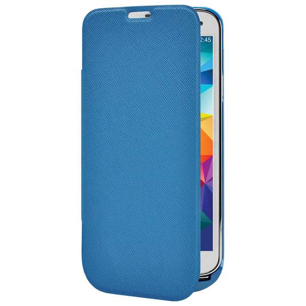 Чехол-аккумулятор InterStep для Galaxy S5 Blue (IS-AK-PCS5FLPBL-000B201)