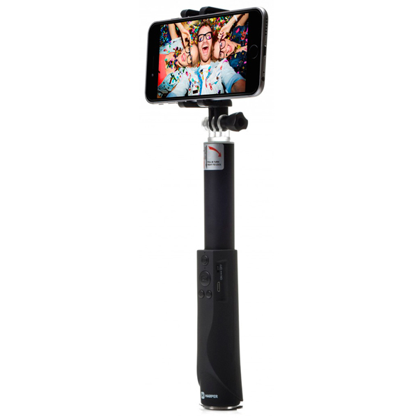Монопод для смартфона Harper RSB-304 Black насадка удлинитель 10см cyberskin минивибратор