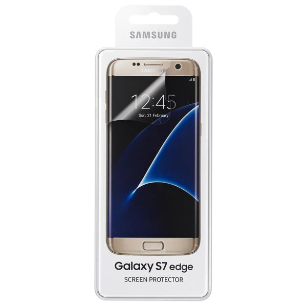 Пленка для сотового телефона Samsung Screen Protector S7 Edge (ET-FG935CTEGRU)