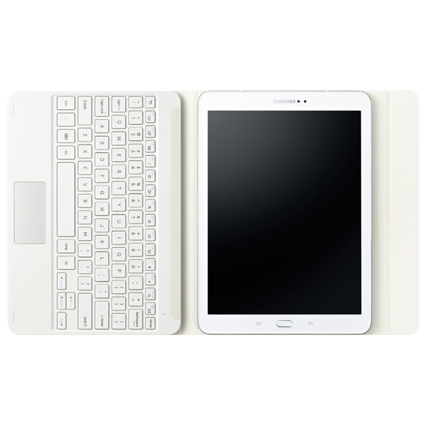 "Samsung Keyboard Cover Tab S2 9.7"" White (EJ-FT810RWEGRU)"