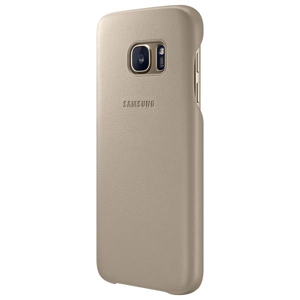 Samsung Leather Cover S7 Beige (EF-VG930LUEGRU)