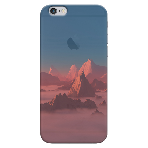 Кейс для iPhone Deppa Art Case для iPhone 6/6S, Nature Горы image art фотоальбом image art 100 10 15 серия 029