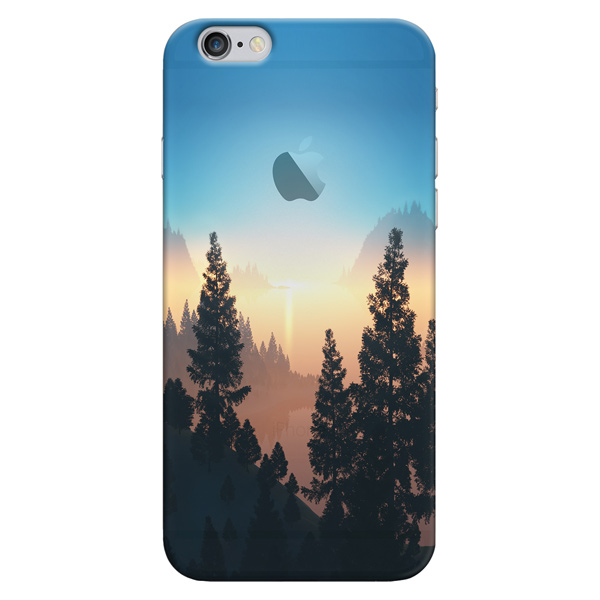 Кейс для iPhone Deppa Art Case для iPhone 6/6S, Nature Озеро image art фотоальбом image art 100 10 15 серия 029