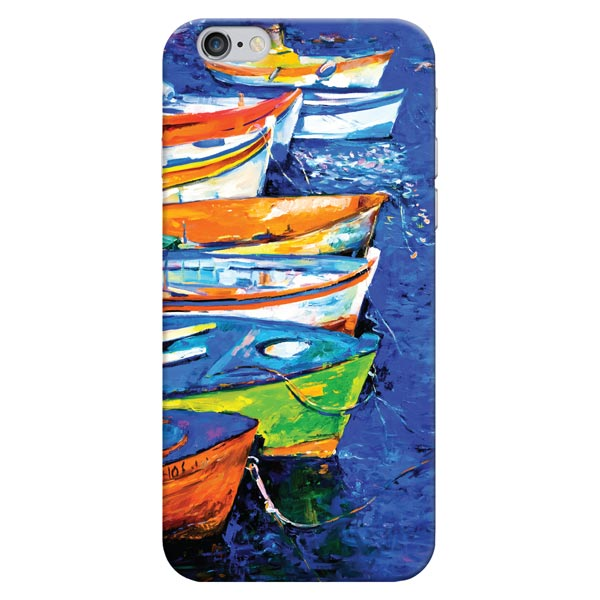 Кейс для iPhone Deppa Art Case для iPhone 6/6S, Art Лодки image art фотоальбом image art 100 10 15 серия 029