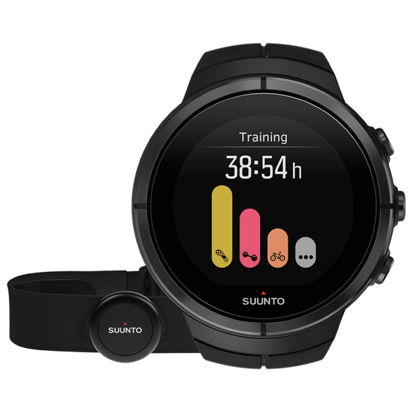 Спортивные часы Suunto SPARTAN ULTRA ALL Black Titanium (HR)  спортивные часы suunto essential ceramic all black tx