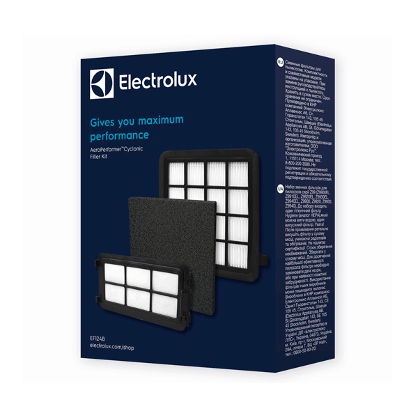 Фильтр для пылесоса Electrolux EF124B