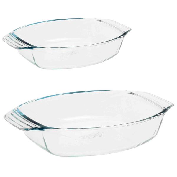 Форма для выпекания (стекло) Pyrex Optimum 2шт.: 2/4л (818S2)