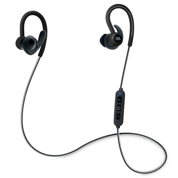 Спортивные наушники Bluetooth JBL Reflect Contour Black (JBLREFCONTOURBLK) jbl synchros e30 black