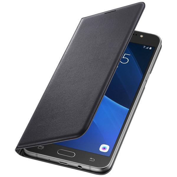 Купить Чехол для сотового телефона Samsung Flip Wallet J7 (2016) Black