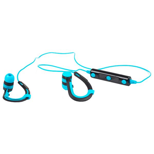 Спортивные наушники Bluetooth Harper HB-109 Blue