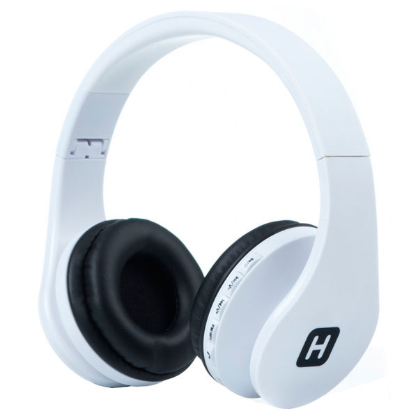Наушники Bluetooth с MP3 Harper HB-203 White