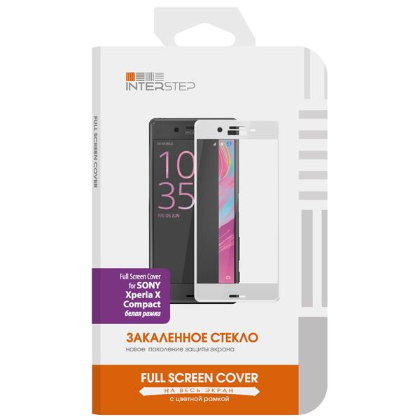 Защитное стекло InterStep для Sony X Compact 0,3мм White