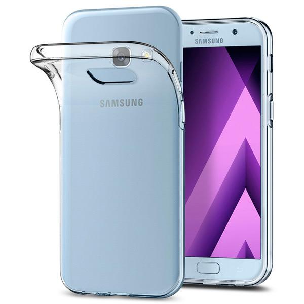 Чехол для сотового телефона Takeit для Samsung Galaxy A3 2017, Slim, прозрачный чехол для сотового телефона takeit для samsung galaxy a3 2017 slim прозрачный