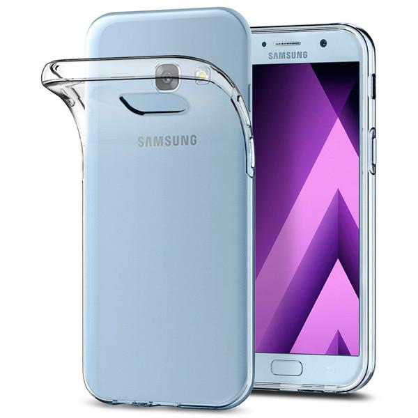 Чехол для сотового телефона Takeit для Samsung Galaxy A7 2017, Slim, прозрачный чехол для сотового телефона takeit для samsung galaxy a3 2017 slim прозрачный