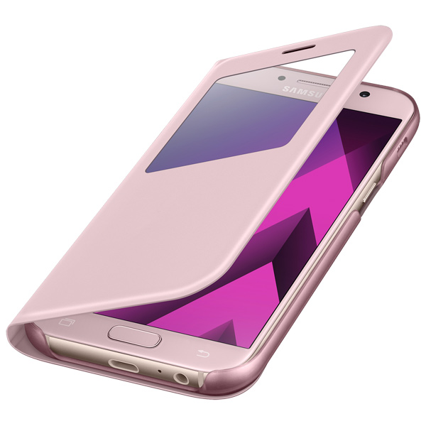 Чехол для сотового телефона Samsung A5 2017 S View Standing Cover Pink
