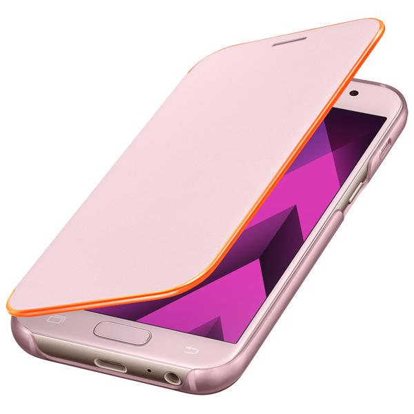 Чехол для сотового телефона Samsung A3 2017 Neon Flip Cover Pink