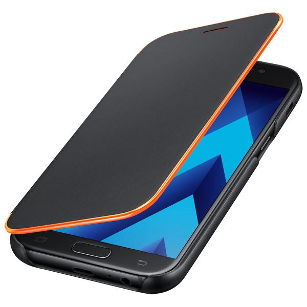 Чехол для сотового телефона Samsung A5 2017 Neon Flip Cover Black