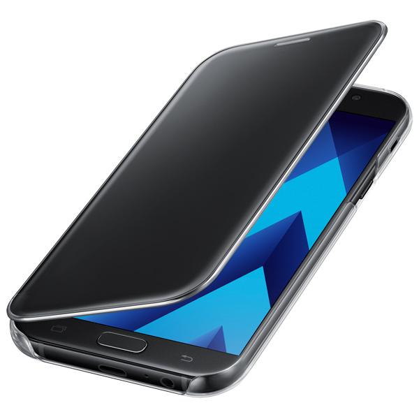 Чехол для сотового телефона Samsung A7 2017 Clear View Cover Black