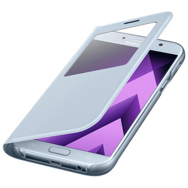 Чехол для сотового телефона Samsung A7 2017 S View Standing Cover Blue