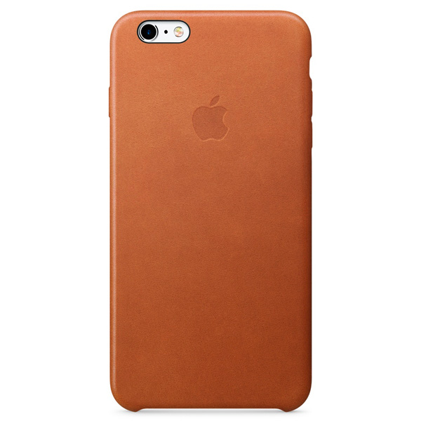 Apple iPhone 6s Plus Leather Case Saddle Brown аксессуар чехол krutoff leather case для iphone 6 6s brown 10754