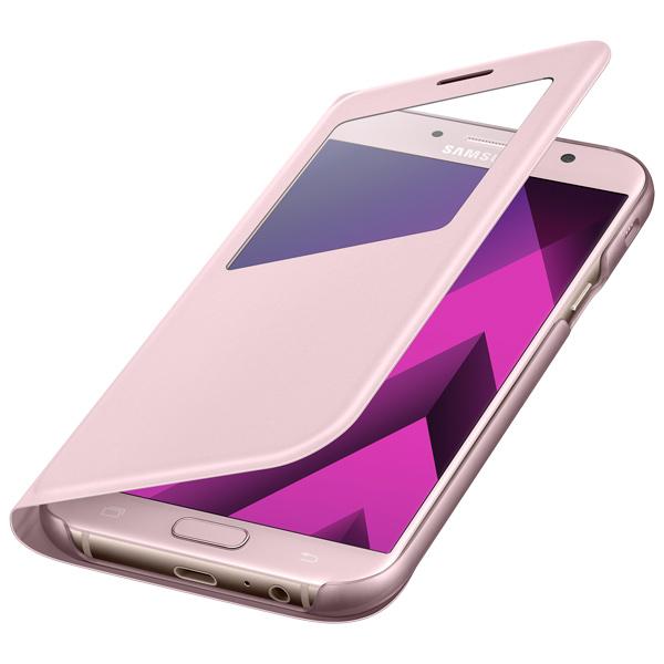 Чехол для сотового телефона Samsung A7 2017 S View Standing Cover Pink