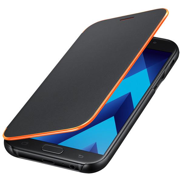 Чехол для сотового телефона Samsung A7 2017 Neon Flip Cover Black