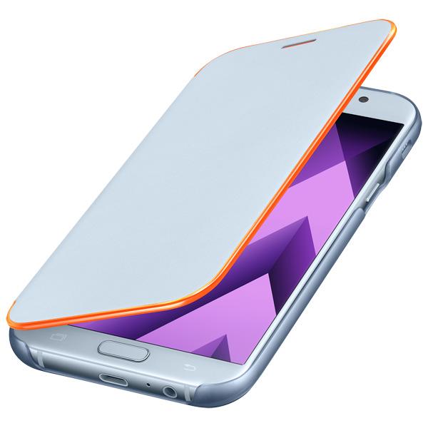 Чехол для сотового телефона Samsung A7 2017 Neon Flip Cover Blue