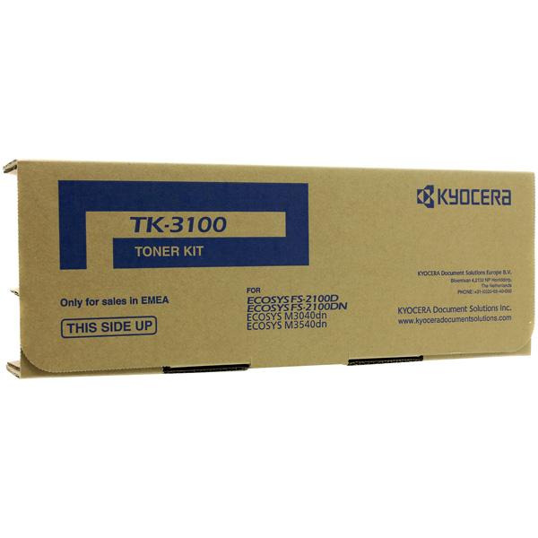 Картридж для лазерного принтера Kyocera TK-3100 короткая куртка lang lang s foreign trade a5 2015 0 24