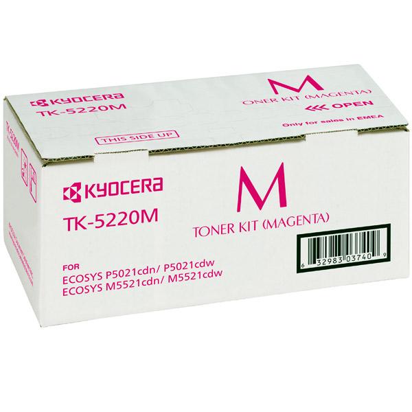 Картридж для лазерного принтера Kyocera TK-5220M картридж для лазерного принтера kyocera tk 895m
