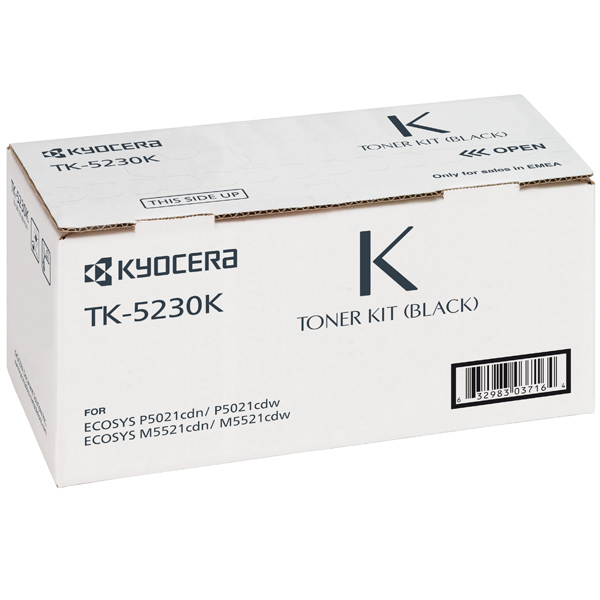 Картридж для лазерного принтера Kyocera TK-5230K картридж для лазерного принтера kyocera tk 895m