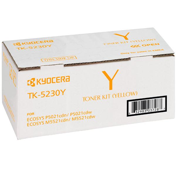 Картридж для лазерного принтера Kyocera TK-5230Y  недорого