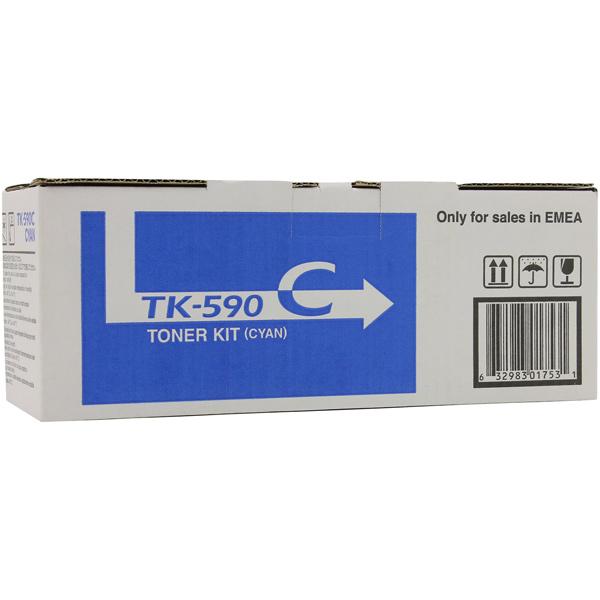 Картридж для лазерного принтера Kyocera TK-590C картридж для лазерного принтера kyocera tk 895m