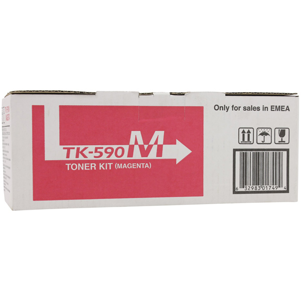 Картридж для лазерного принтера Kyocera TK-590M картридж для лазерного принтера kyocera tk 895m