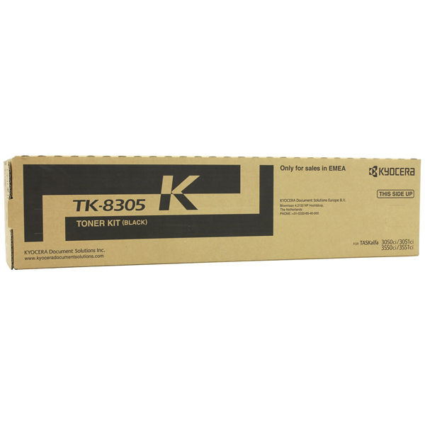 Картридж для лазерного принтера Kyocera TK-8305K картридж для лазерного принтера kyocera tk 895m