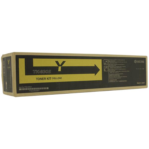 Картридж для лазерного принтера Kyocera TK-8305Y  недорого