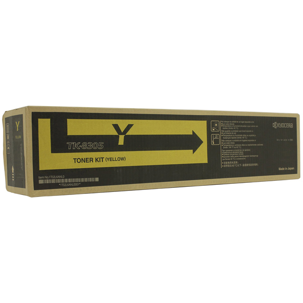 Картридж для лазерного принтера Kyocera TK-8305Y картридж для лазерного принтера kyocera tk 895m