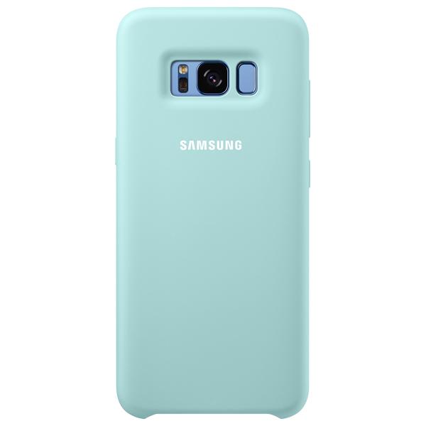 Samsung, Чехол для сотового телефона, Galaxy S8 Silicone Light Blue (EF-PG950TLEGRU)