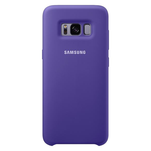 Samsung, Чехол для сотового телефона, Galaxy S8 Silicone Violet (EF-PG950TVEGRU)