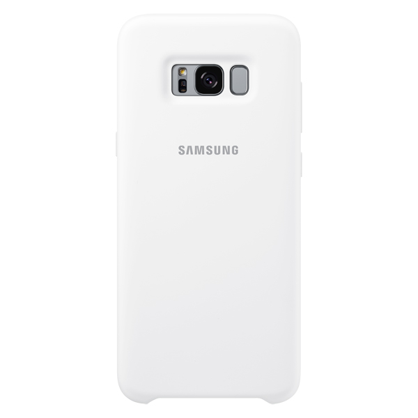 Чехол для сотового телефона Samsung Galaxy S8+ Silicone White  (EF-PG955TWEGRU) samsung ef cg900bwegru для samsung galaxy s5 white
