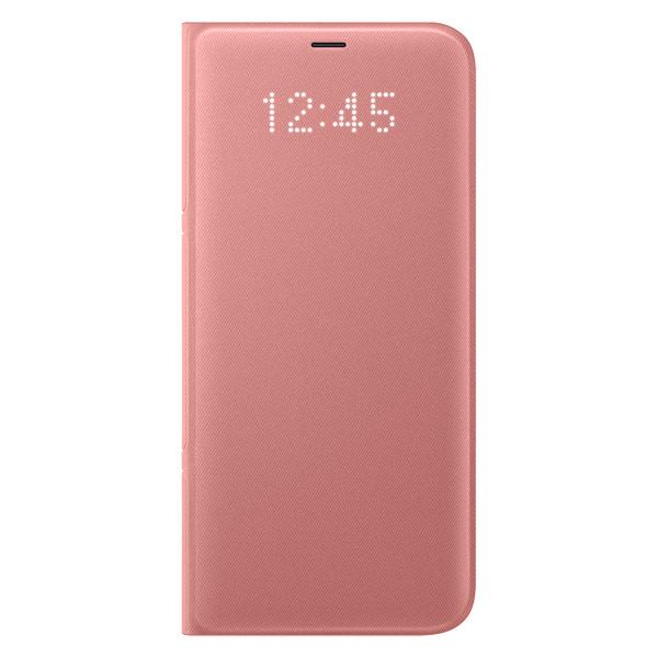 Чехол для сотового телефона Samsung Galaxy S8+ LED View Pink (EF-NG955PPEGRU) pickogen he 077 uv fisheye macro wide angle camera lens with led for iphone samsung pink