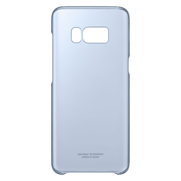Чехол для сотового телефона Samsung Galaxy S8 Clear Blue (EF-QG950CLEGRU)