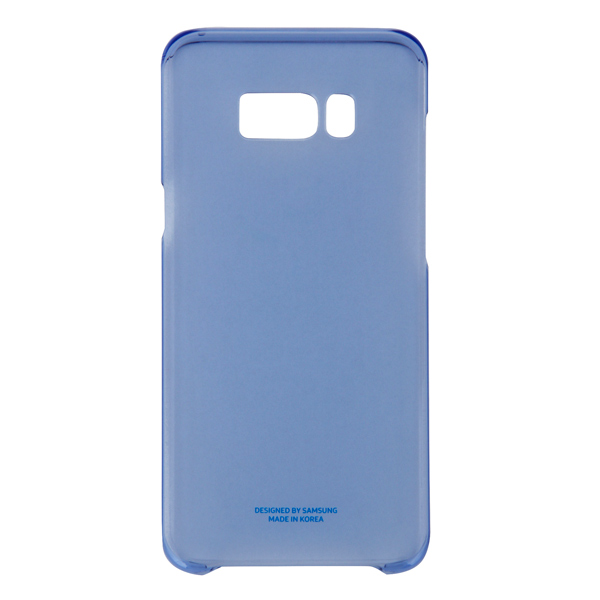 Чехол для сотового телефона Samsung Galaxy S8+ Clear Blue (EF-QG955CLEGRU)