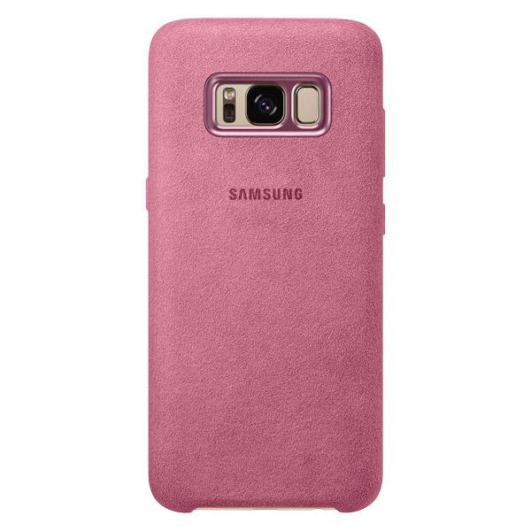 Чехол для сотового телефона Samsung Galaxy S8 Alcantara Pink (EF-XG950APEGRU) чехол для сотового телефона takeit для samsung galaxy a3 2017 metal slim металлик