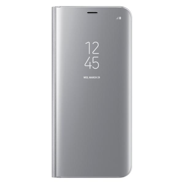 Чехол для сотового телефона Samsung S8+ Clear View Standing Silver (EF-ZG955CSEGRU)