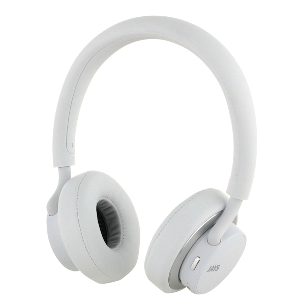 Наушники Bluetooth Jays U-Jays Wireless White (T00183) управление динамика неравновесности