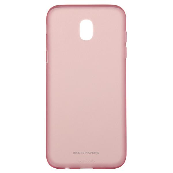 Чехол для сотового телефона Samsung Galaxy J5 (2017) Jelly Pink (EF-AJ530TPEGRU) чехол для сотового телефона takeit для samsung galaxy a3 2017 metal slim металлик