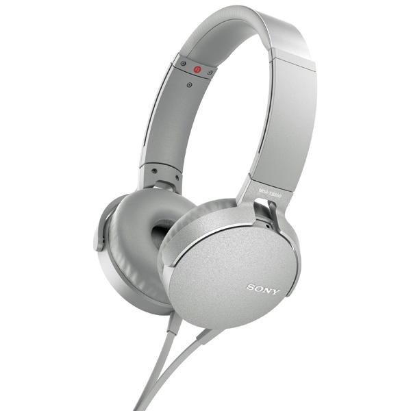 Наушники накладные Sony XB550AP Extra Bass White (MDRXB550APWC(Е))