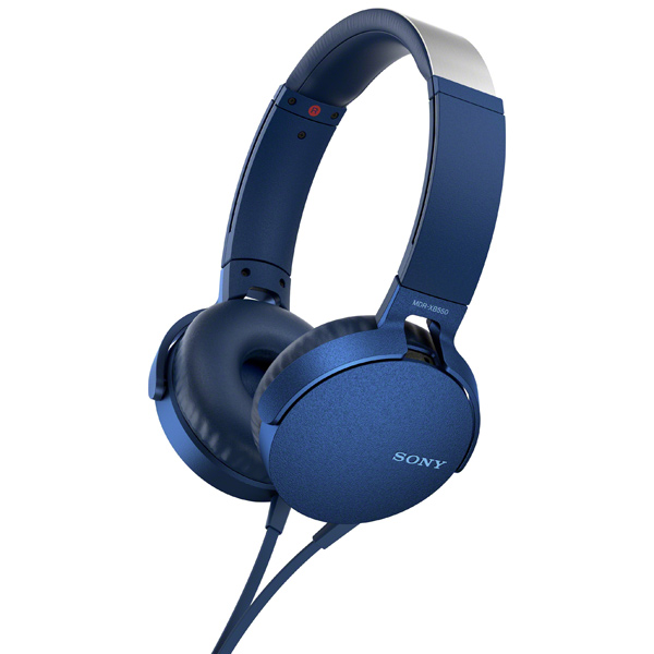 Наушники накладные Sony XB550AP Extra Bass Blue (MDRXB550APLC(Е))